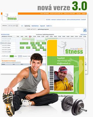 rezervační systém Fitness 3.0